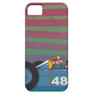 Racing Car Retro Pig Funda Para iPhone SE/5/5s