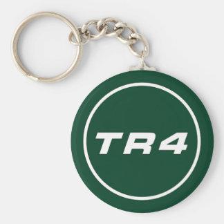 RACING TR4 llavero británico green