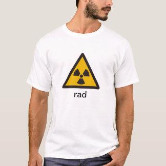rad, símbolo tradicional de la radiación camiseta