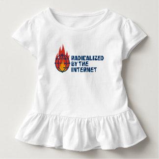 Radicalizado por el Internet (para los bebés) Camiseta De Bebé