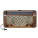 Radio 1 del vintage laptop altavoz