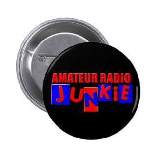 radio aficionada chapa redonda de 5 cm