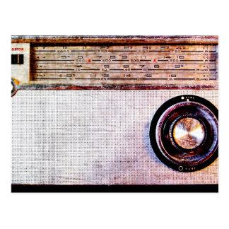 radio de los años 70 postal