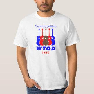radio de los años 70 WTOD 1560 Countrypolitan Camiseta