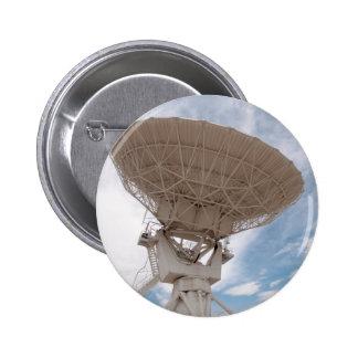 Radio de VLA que recibe New México Chapa Redonda De 5 Cm