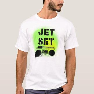 Radio del jet set camiseta