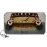 Radio del vintage - obra clásica altavoz de viajar