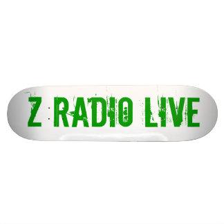 Radio Skatebored vivo de Z Patin Personalizado