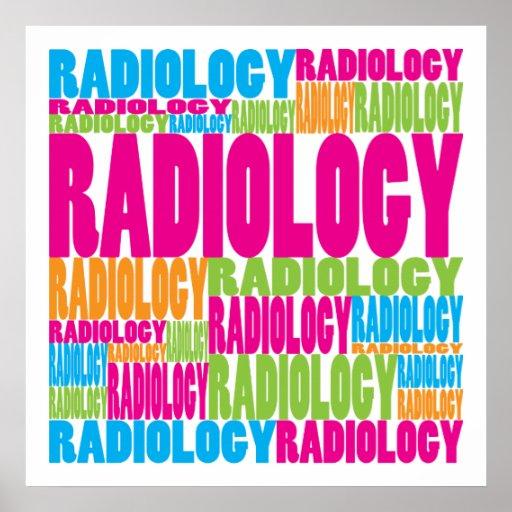 Radiología colorida impresiones