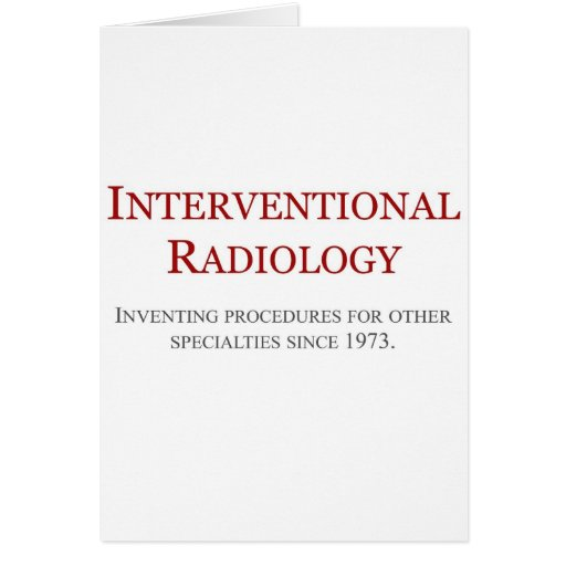 Radiología de Interventional Felicitaciones