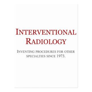Radiología de Interventional Postal
