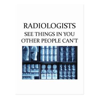 Radiología del radiólogo postal
