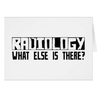 ¿Radiología qué más está allí Tarjetón
