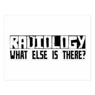 ¿Radiología qué más está allí? Tarjetas Postales