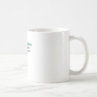 Radiólogos que vemos a la derecha a través de taza de café
