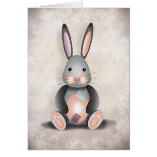 Rafael el conejo del remiendo - tarjeta de