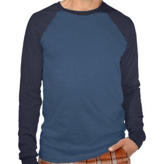 Raglán largo básico de la manga camisetas
