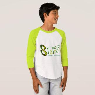 Raglán-T-Camisa irlandesa de la manga de la imagen Camiseta