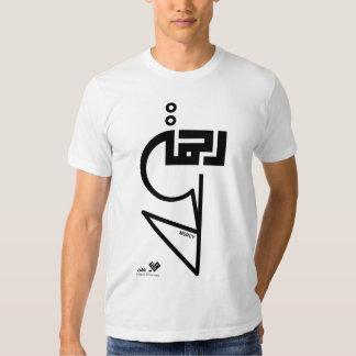 Rahma (misericordia) - línea de colección de la fe camisetas