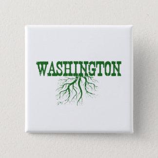 Raíces de Washington Chapa Cuadrada