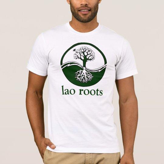 raíces del lao camiseta