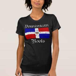 Raíces dominicanas camiseta