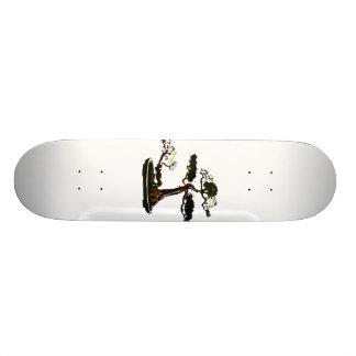Raíz sobre imagen vertical del gráfico de los bons tablas de skate