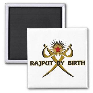 Rajput por la Sun-Estrella del nacimiento Imán De Nevera