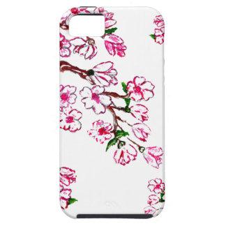 Rama de Sakura que pinta 6 Funda Para iPhone SE/5/5s