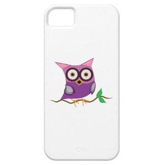 Rama del búho iPhone 5 funda