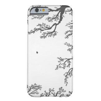 ramas con los pájaros y las hojas en un lig funda barely there iPhone 6