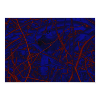 Ramas de árbol abstractas anuncio personalizado