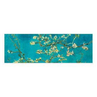 Ramas de árbol florecientes de almendra de Vincent Tarjetas De Negocios