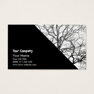 Ramas de árbol tarjeta de negocios