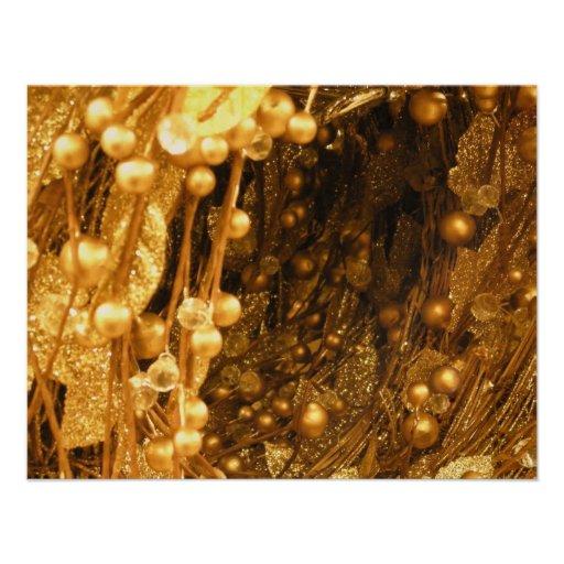 Ramas del oro anuncios personalizados