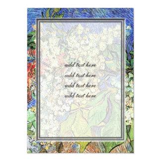 Ramas florecientes de las castañas, Van Gogh.