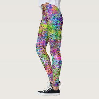 Ramen del arco iris leggings