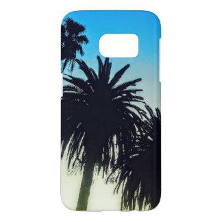 Ramo de árboles de palmas funda samsung galaxy s7