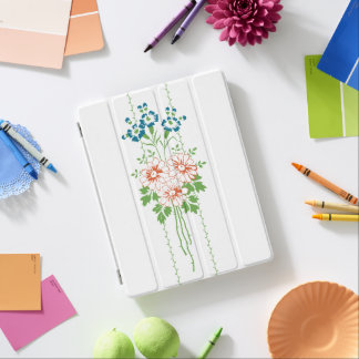 Ramo de la flor… cubierta de iPad