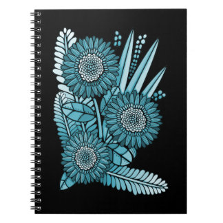 Ramo de la flor de la margarita del Gerbera del Cuaderno
