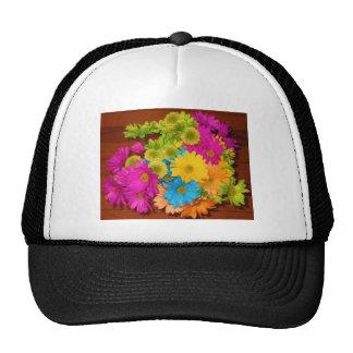 ramo de neón hermoso de la flor gorras