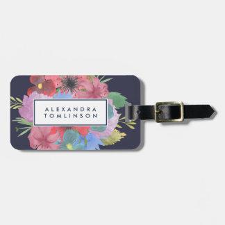Ramo del Wildflower personalizado Etiquetas Para Maletas