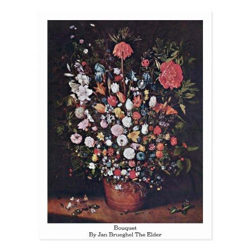 Ramo en enero Brueghel la anciano Tarjetas Postales