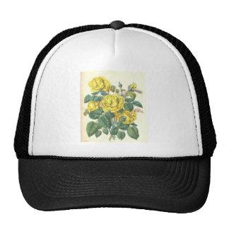 ramo floral hermoso con las flores de la primavera gorras de camionero