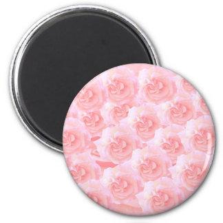 Ramo ligero del rosa rojo de la sombra imán para frigorífico