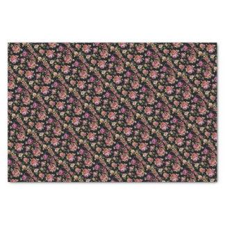 Ramos del jardín de la cabaña del vintage papel de seda