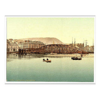 Ramsey puente del hierro isla del hombre Inglat Tarjetas Postales