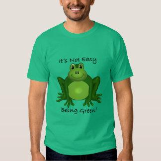 Rana ambiental camisetas