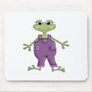 Rana púrpura tapete de ratones