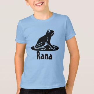 Rana - rana en latín camiseta